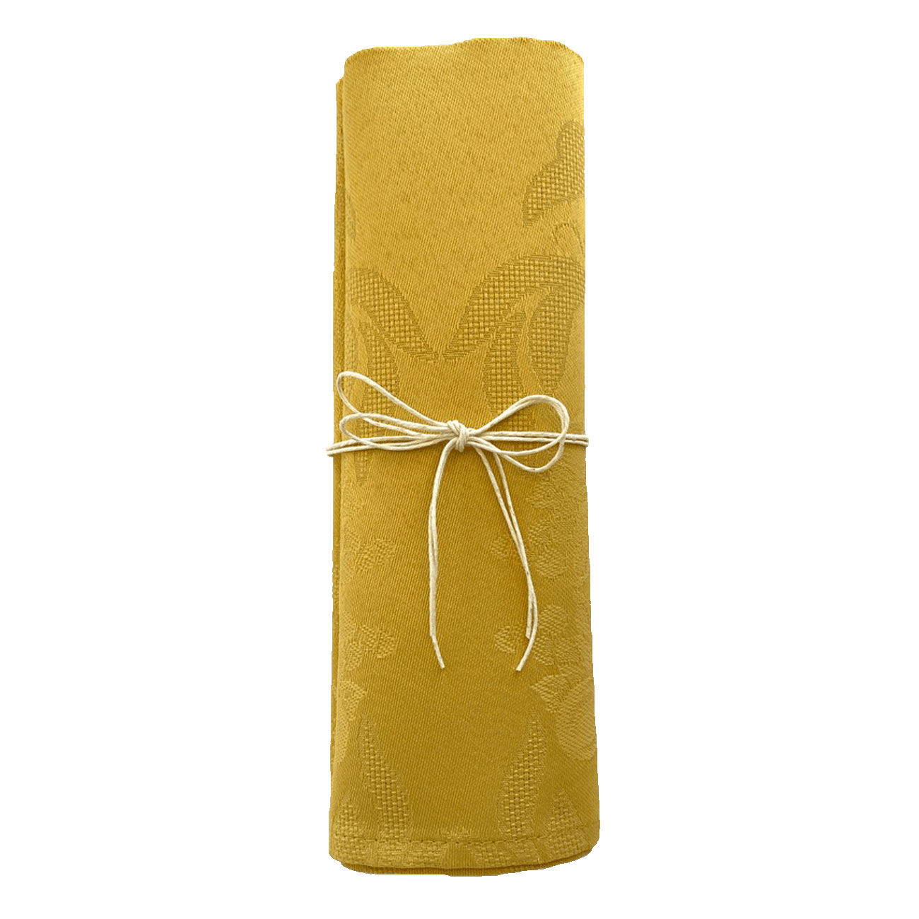 Stain and iron resistant cloth napkin