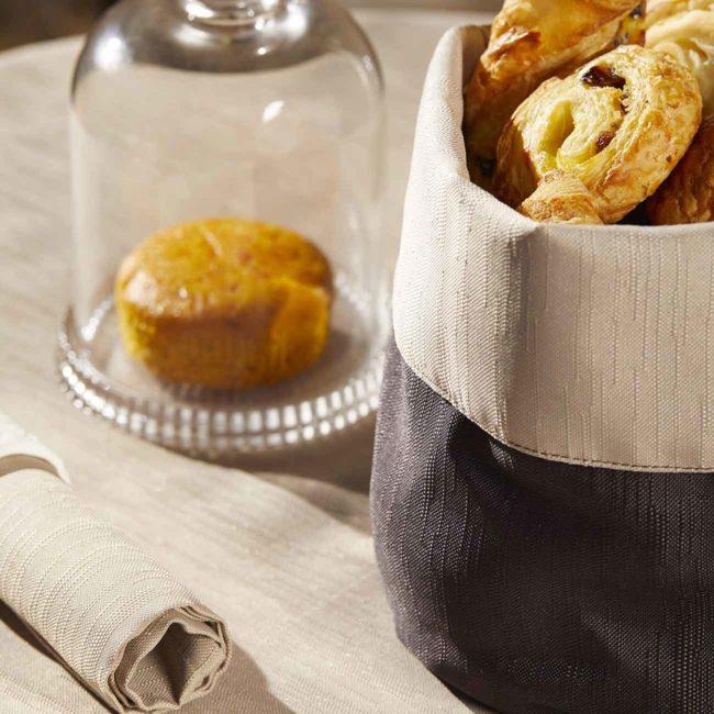 Portapane in stoffa per ristoranti