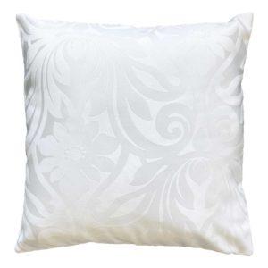 Cuscino in tessuto damascato