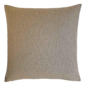Cuscino in tessuto marrone