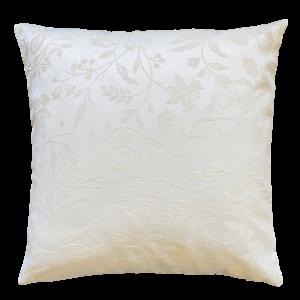 Cuscino in tessuto misto lino