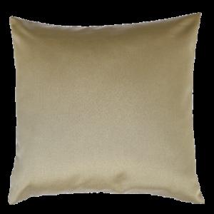 Cuscino in tessuto lucido colore oro