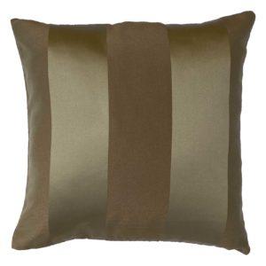 Cuscino in tessuto rigato