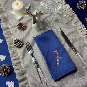 Coordinato per la tavola di Natale