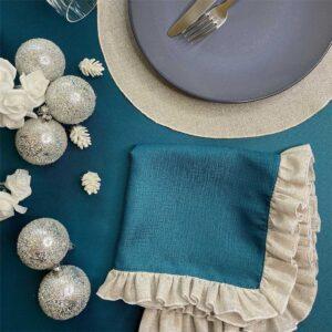 Look natalizio per la tavola